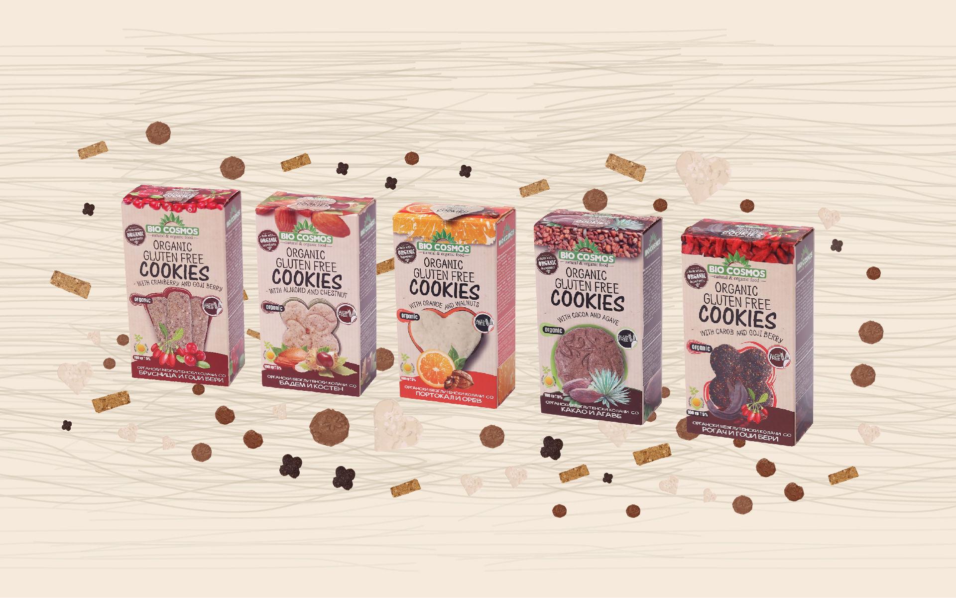 Organic Gluten-Free Cookies